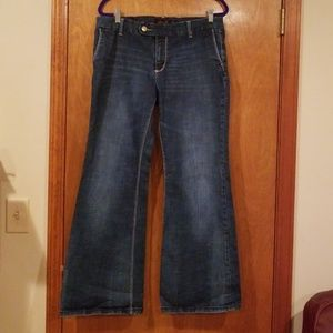 7 Seven For All Mankind Jeans Trouser Fit Size 16